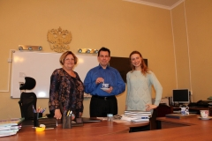 Посещение Лингвоцентра носителями английского языка в феврале-марте 2015 года