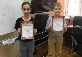 Победители олимпиады Лингвоцентра по английскому языку в апреле 2021 года
